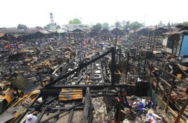 Kebakaran Paksa 226 Jiwa di Banjarmasin Kehilangan Tempat Tinggal
