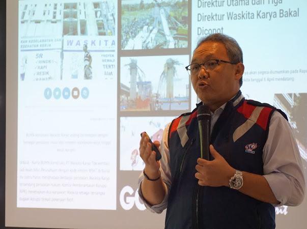 Director of HCM & System Development Waskita Karya Hadjar Seti Adji - Istimewa