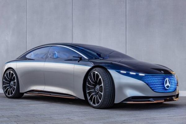 Mercedes-Benz Vision EQS - Mercedes/Benz