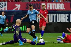 Hasil Uji Coba, Amerika Serikat Imbangi Uruguay Skor…