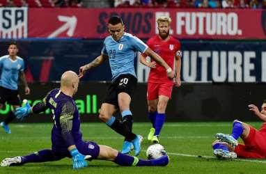 Hasil Uji Coba, Amerika Serikat Imbangi Uruguay Skor 1 - 1