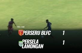 Badak Lampung vs Persela 1-1, Belum Bisa Jauhi Zona Degragasi. Ini Videonya