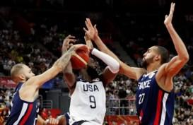 Hasil Piala Dunia Basket, Prancis Sukses Singkirkan Amerika Serikat