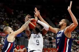 Hasil Piala Dunia Basket, Prancis Sukses Singkirkan…