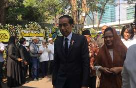 Presiden Jokowi Melayat B.J. Habibie di Rumah Duka