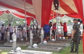Pusara B.J. Habibie Dekat Ainun dan Ani Yudhoyono