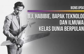 B.J. Habibie, Bapak Teknologi dan Ilmuwan Kelas Dunia