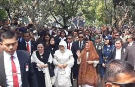 SBY, JK, Megawati Datang Beriringan Hadiri Pemakaman B.J. Habibie