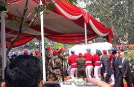 Prosesi Pemakaman B.J. Habibie Berlangsung Khidmat