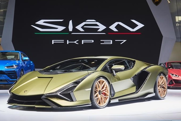 Sin FKP 37. - Lamborghini