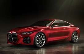 Grille Lebar dan Elegan ala BMW Concept 4