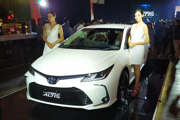 All New Toyota Altis. - Bisnis/Thomas Mola