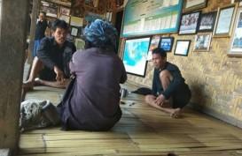 50 Rumah Badui di Kampung Kadugede Terbakar