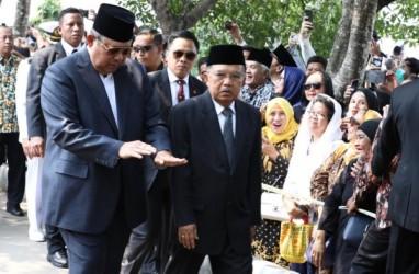 Foto-foto Reuni Tokoh Nasional di Pemakaman B.J. Habibie