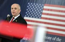 Ikut Berkabung, Kedubes AS Pasang Bendera Setengah Tiang