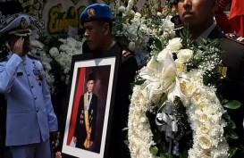 Foto-foto Perjalanan Jenazah B.J. Habibie