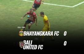 Bhayangkara FC vs Bali United 0-0, Bali United Kokoh di Puncak. Ini Videonya