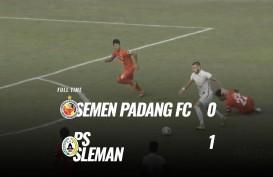Semen Padang vs PSS Sleman 0-1, PSS Sleman ke Posisi 4. Ini Videonya