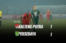 Kalteng Putra vs Persebaya 1-1, Peringkat 4 Milik PSS Sleman. Ini videonya