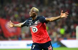 Depay Tak Main, Osimhen Top Skor Liga Prancis 5 Gol