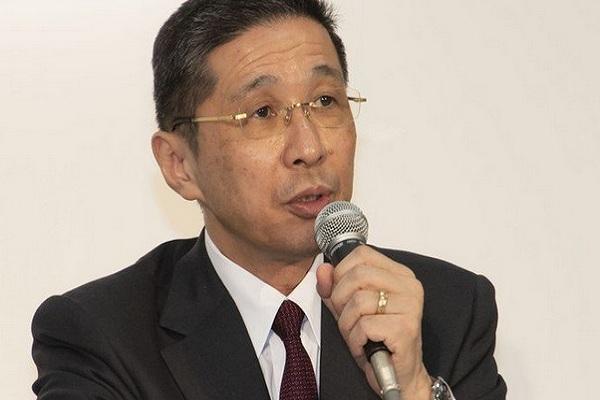 Hiroto Saikawa, CEO Nissan yang mundur dari jabatannya pada 9 September 2019. - Antara