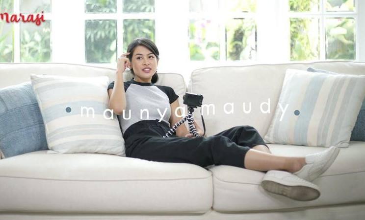 Maudy Ayunda kembangkan vlog Maunya Maudy untuk tetap terhubung dengan penggemarnya - Istimewa