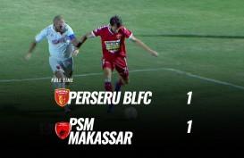 Badak Lampung vs PSM Makassar 1-1, Dendam tak Terlampiaskan. Ini videonya