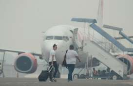 103 Penerbangan Lion Air Group Terganggu Kabut Asap