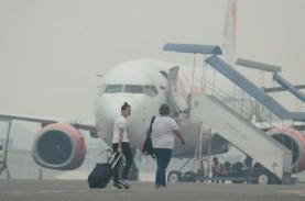 103 Penerbangan Lion Air Group Terganggu Kabut Asap