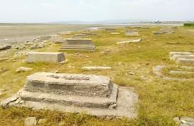 Air Gajah Mungkur Menyusut, Bekas Perkampungan & Kuburan Lama Muncul Kembali