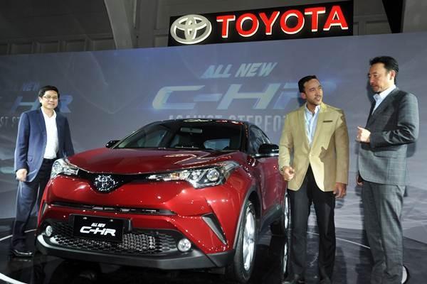 Peluncuran Toyota New-CHR pada 2018. - ANTARA