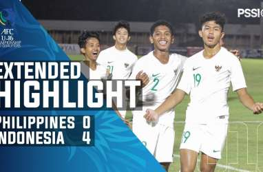 Piala AFC U-16: Indonesia Hajar Filipina 4-0. Ini Videonya