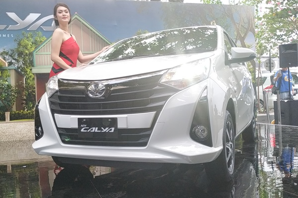 New Toyota Calya dirilis resmi di Jakarta, Senin (16/9/2019) - Bisnis/Thomas Mola
