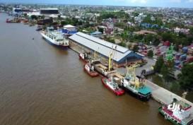 Kabut Asap Ganggu Aktivitas Kapal Roro di Banjarmasin