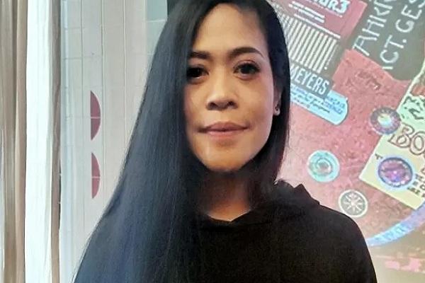 """Kikan Namara ditemui dalam jumpa pers konser """"Musik untuk Republik"""" di Jakarta, Selasa (17/9/2019)  - Antara"""