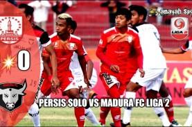 Persis Solo vs Madura FC 0-0, Persis ke Posisi 4 Gusur…