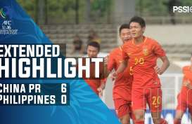 Piala FC U-16: China Hajar Filipina 6-0, Puncaki Grup G. Ini Videonya