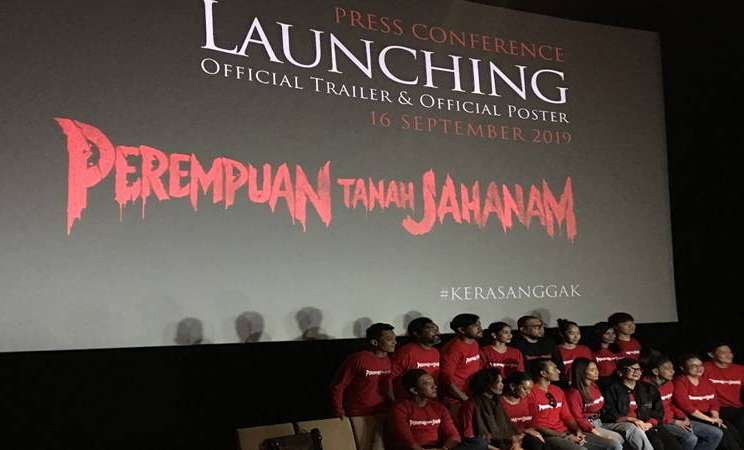 Peluncuran official trailer dan official poster film Perempuan Tanah Jahanam. JIBI/Bisnis - Akbar Evandio