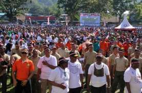 PAPUA TERKINI : Dewan Adat Papua Unjuk Rasa Damai…