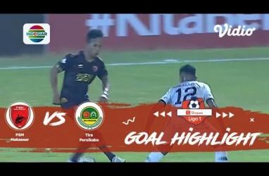 PSM Makassar vs Tira Persikabo 2-0, PSM ke Posisi 8. Ini Videonya