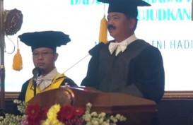Panglima TNI Resmi Sandang Gelar Doktor Kehormatan Bidang Manajemen SDM