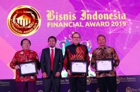 Foto-foto Malam Penghargaan Bisnis Indonesia Financial…
