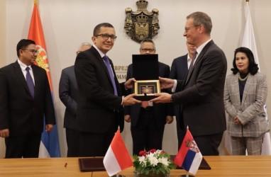 Lirik Potensi Serbia, Kadin Indonesia Tandatangani Kerjasama dengan Kadin Serbia