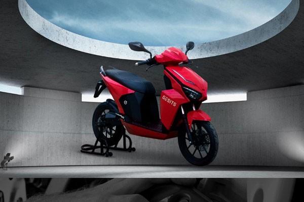 Sepeda motor listrik Gesits. - Gesitd.co.id