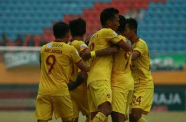 Hasil Liga 2 : Sriwijaya Kian Mantap Pimpin Klasemen Wilayah Barat