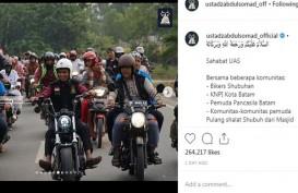Intip Harley Davidson Ustaz Abdul Somad