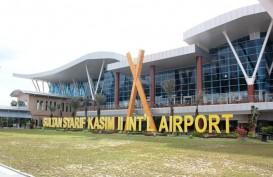 Akhirnya,  Satu Pesawat Berhasil Mendarat di Bandara Pekanbaru