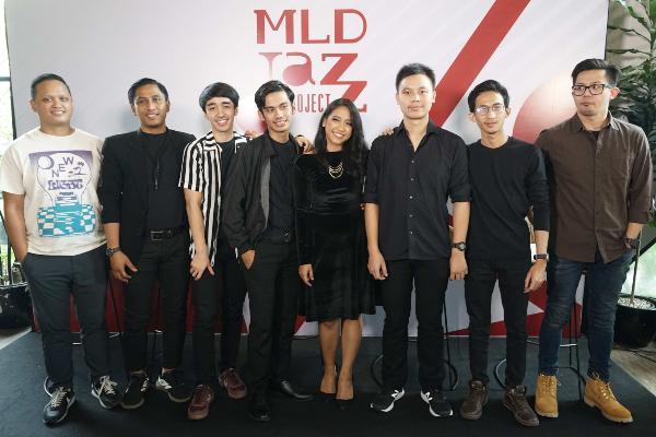Peluncuran Album Perdana MLDJAZZPROJECT Season 4. - Istimewa