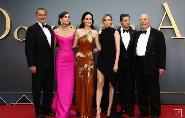 Para pemeran Downtown Abbey di acara premier film. Sumber: Reuters