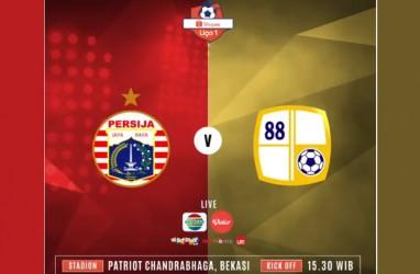 Persija Tekuk Barito Putera 1-0, Keluar dari Zona Degradasi. Ini Videonya